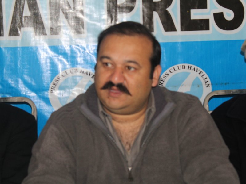 Press conference against illegal act by senior minister Innayat Ullah, Havelian.Net, Videos