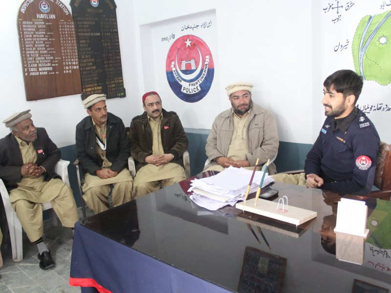 SHO Junaid Khan announces free Security Training, Havelian.Net, News