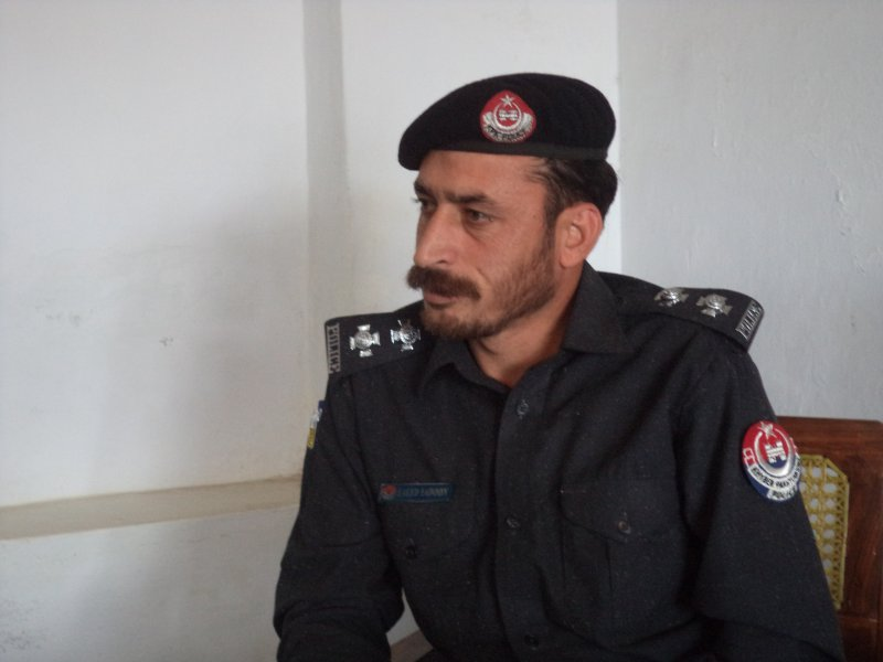 New SHO Havelian  Saeed Yadoon is determined to reduce crime in the area