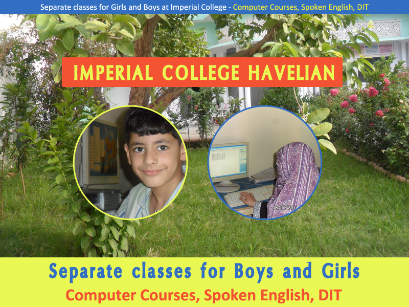 Separate Classes for Girls and Boys at Imperial College