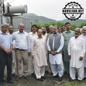 New Grid Station for Havelian inaugurated in POF Cantt by Deputy Speaker