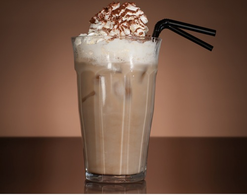 Cold coffee with Vanilla icecream  recipes