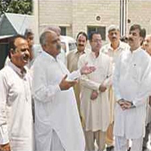 Havelian KPK Minister of Health & Information Shoukat Ali Yousaf Zai Visits Civil Hospital Havelian