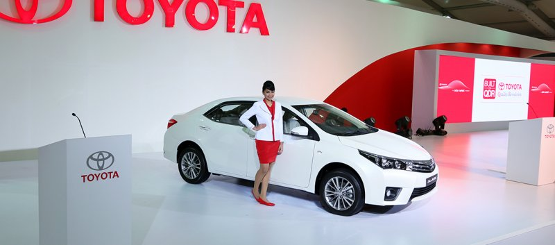 Latest Models by Toyota 2014