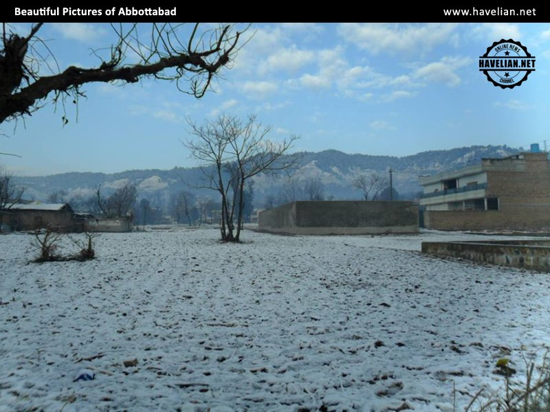 Beautiful Pictures of Snow Fall in Abbottabad