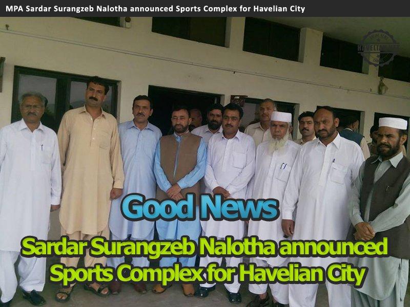 Sports Complex in Havelian