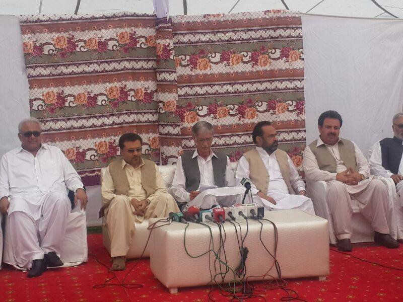 CM Pervez Khattak announces development projects for Galiat worth 1 Billion Rs
