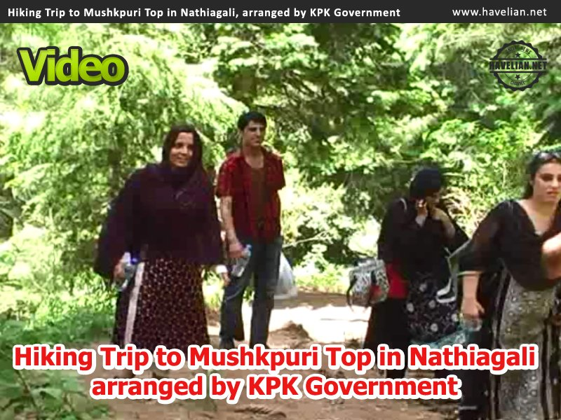 Videos of Hiking Trip to Mushkpuri Top in Nathiagali, arranged by KPK Government