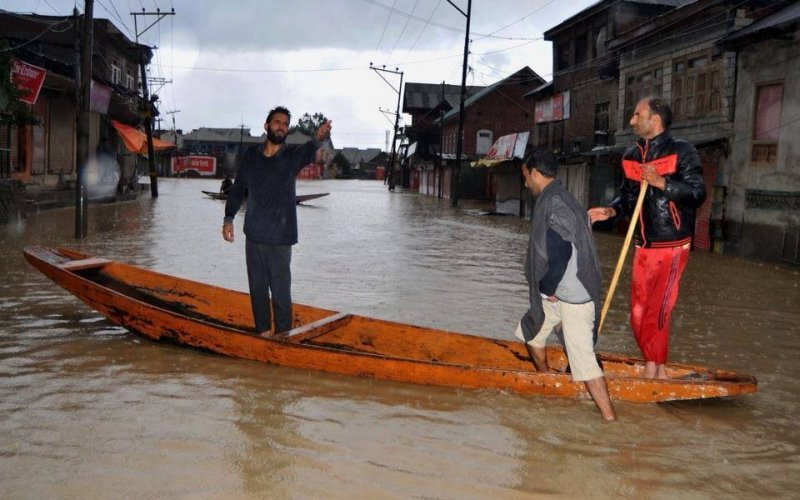 Pictures of Recent  Flood in Kashmir