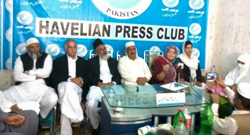 Protest of Ababeel Human rights and press club Havelian on burned girl at Makol Paaeenn