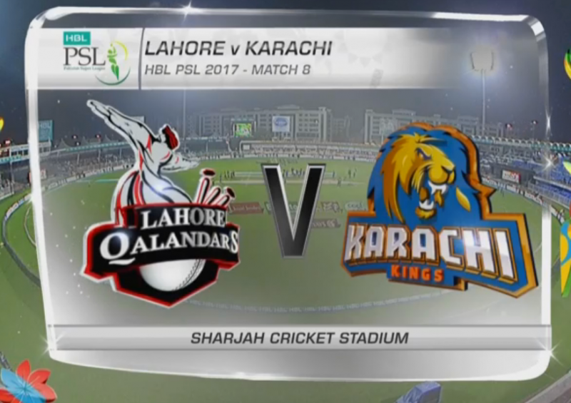 Lahore Qalandars beat Karachi Kings By 7 Runs