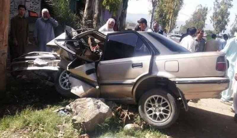 Car Accident in Khokhar maira, Havelian