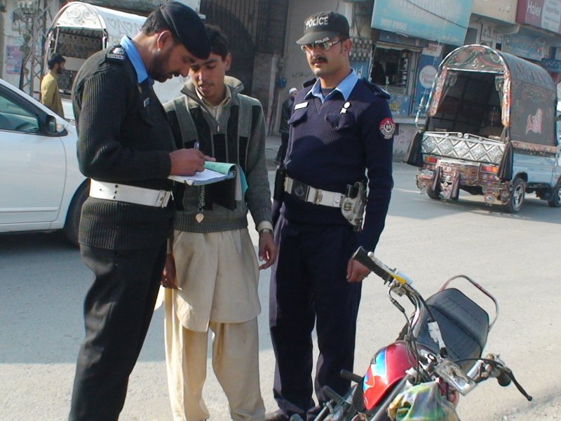 Traffic Police Havelian city, Shahzaib Khan, News