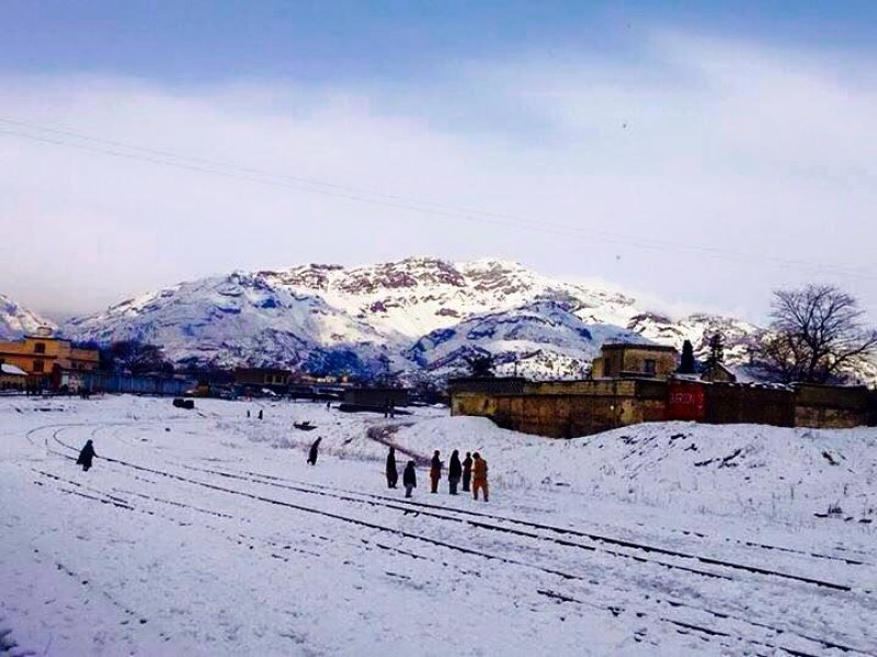 Pictures of snowfall in Havelian, Shabbir Ahmed, Photos