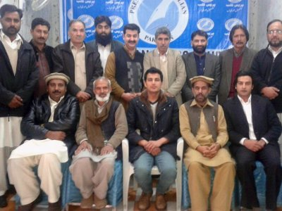 union of journalists, elections, Syed Abbas Trimzy , president, Havelian.Net, News