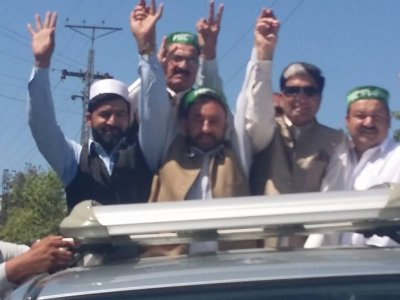 PML-N convoy going to Mansehra to attend president jalsa, MZ Khan, News