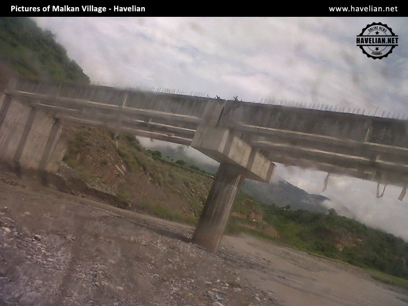 bridge construction in village malkan havelian, abbottabad