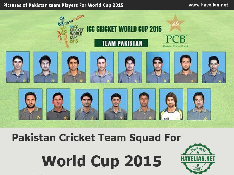 Pakistan team,world cup 2015,2015 world cup,schedule of world cup 2015