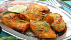 tandoori fish, fish, delicious food