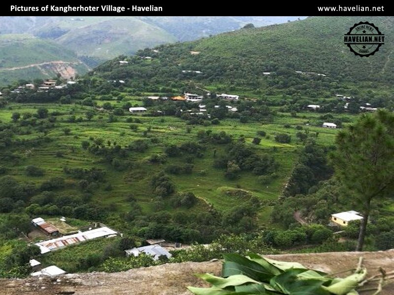 Kangherhoter Village, satora valley, havelian, beautiful villages of havelian