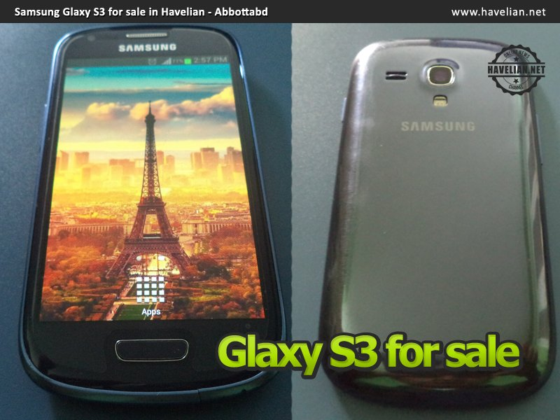 Samsung Glaxy S3, for sale in Havelian Abbottabad, mobile for sale in abbottabad, mobile for sale in haripur, mobile for sale in havelian