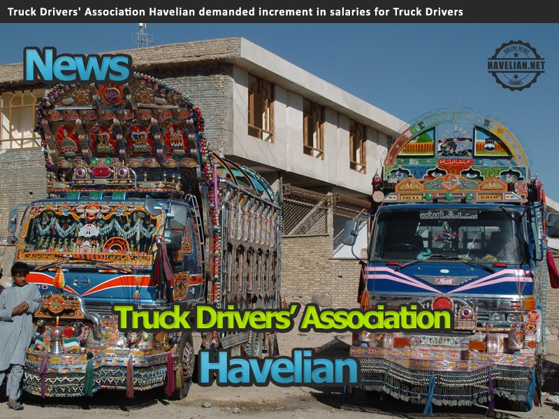 truck drivers, trucks, associations, salary, niaz khan, aksar khan, amjad khan