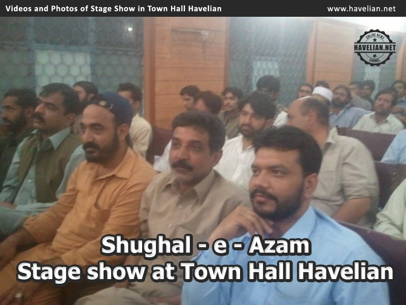 stage show, performances, videos, photos, town hall havelian