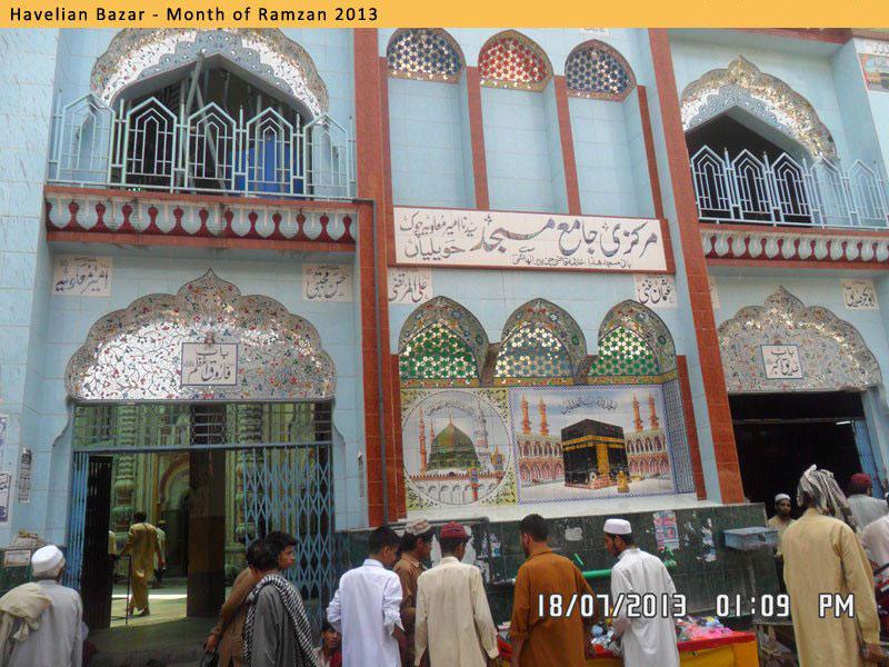 pictures, havelian, bazar, ramzan, markazi masjid havelian, main road havelian