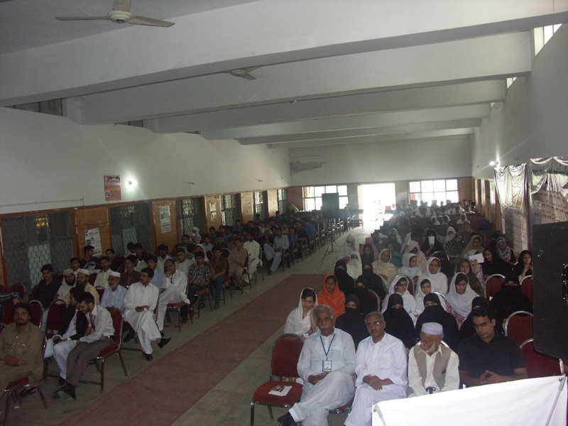Career Counselling Seminar in Havelian. seminar, town hall havelian, sardar umair, jawad khan