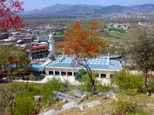 Masjids in Abbottabad,Ilyasi Masjid,famous places of Nawansher .famous places of Abbottabad,pictures of Nawansher,oldest and largest Masjid of Abbottabad,mountain spring