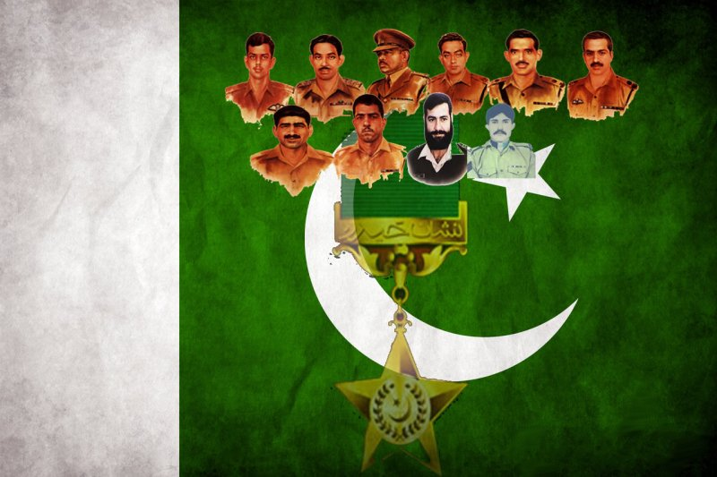 Nishan-e-Haider, highest military award, Pakistan highest military award, award of war
