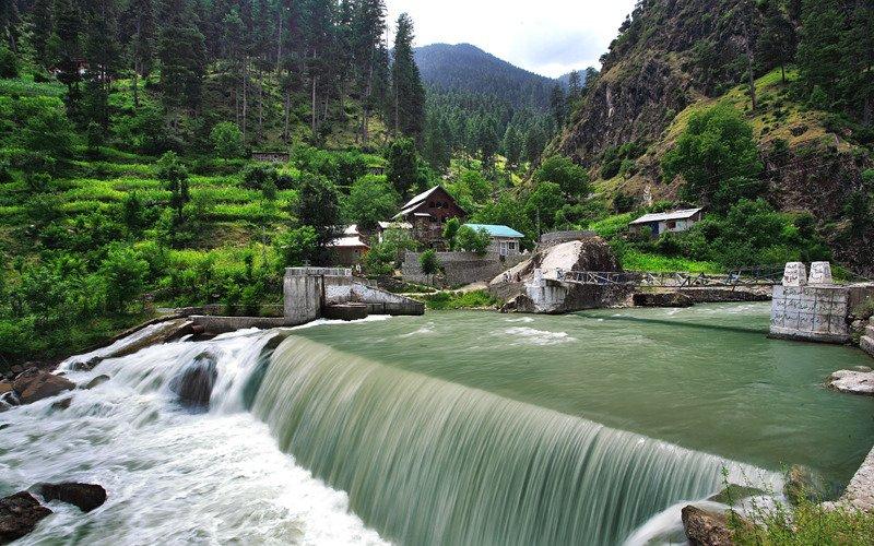 Patika Waterfall Muzaffarabad District