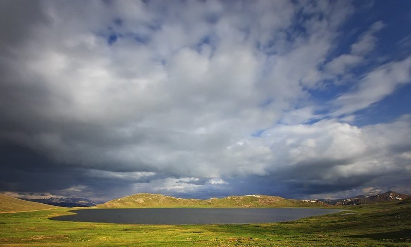 Sheosar Lake in Deosai Plains, Astore Pakistan
